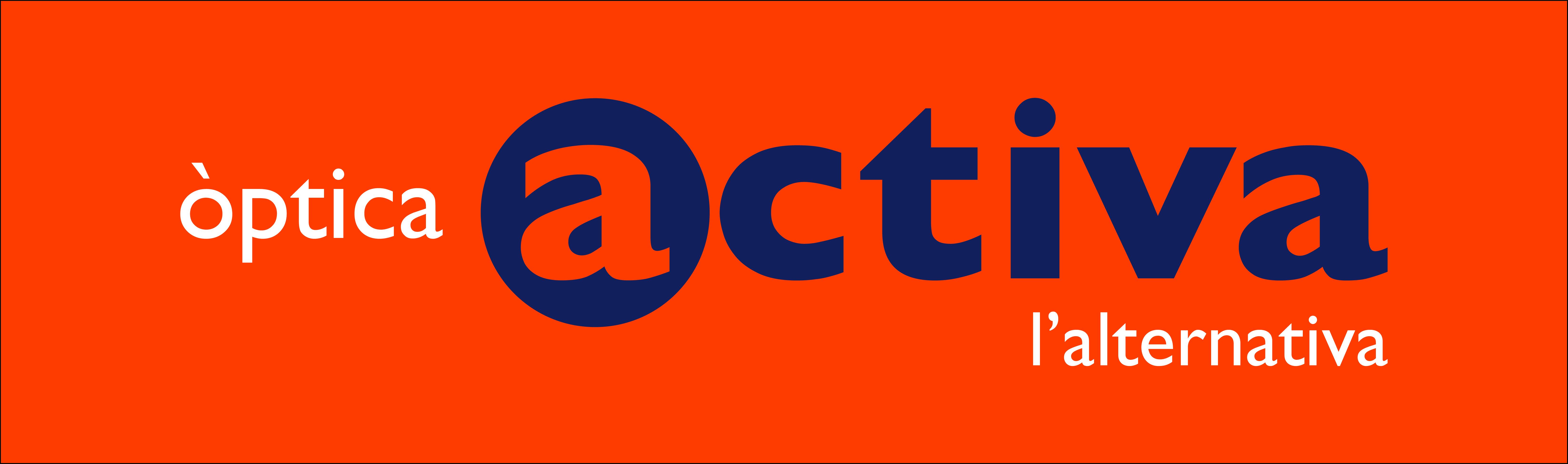 Logo comerç Òptica Activa - Corts