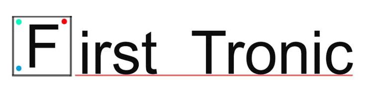 Logo comerç First Tronic