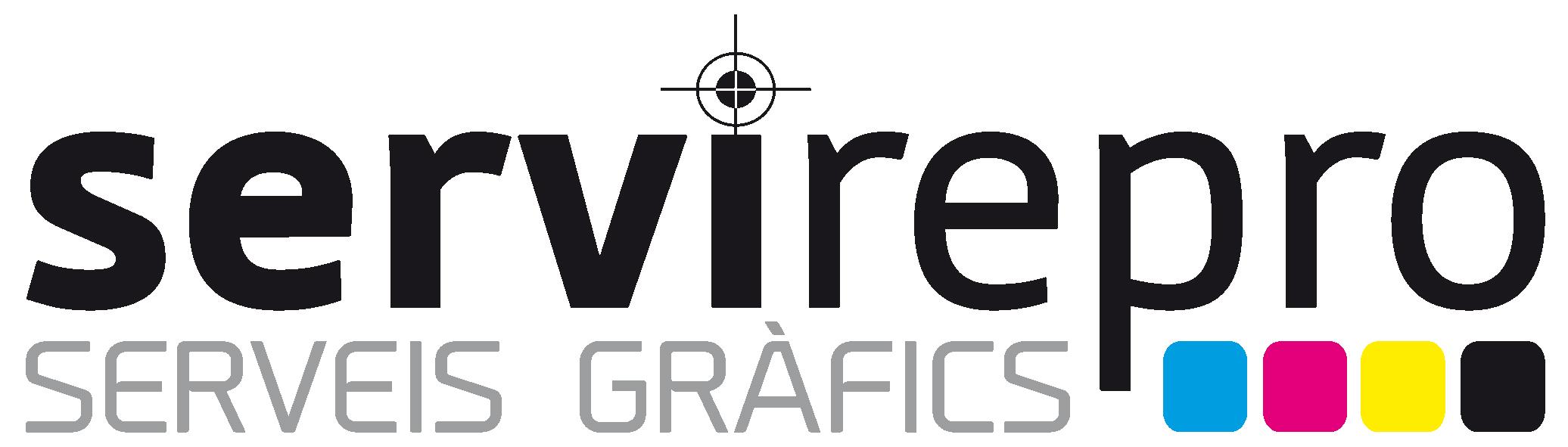 Logo comerç Servirepro Serveis Gràfics
