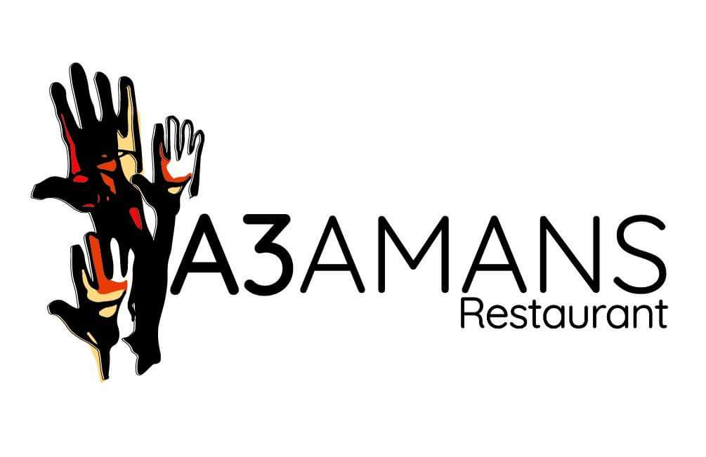 Logo comerç A3mans restaurant