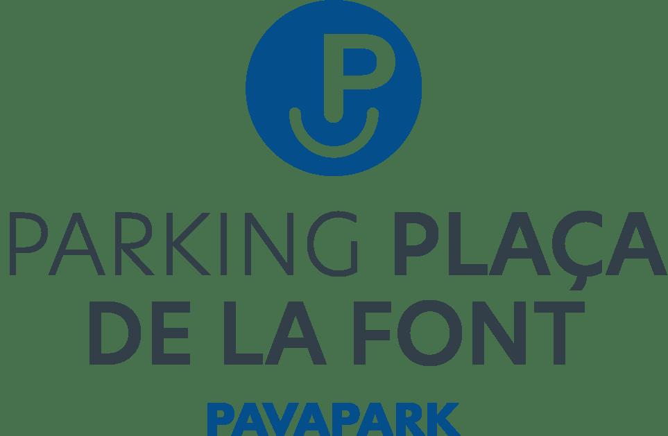 Logo comerç Parking Plaça de la Font