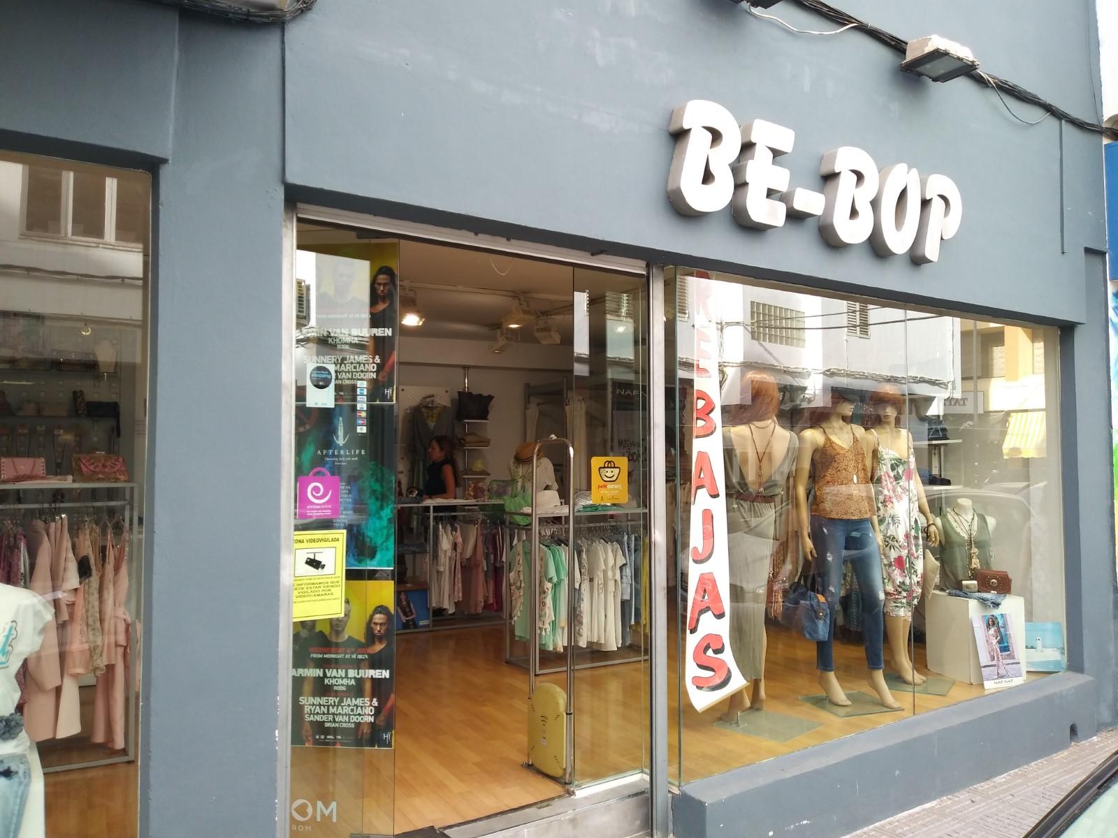 Logo comerç BE BOP