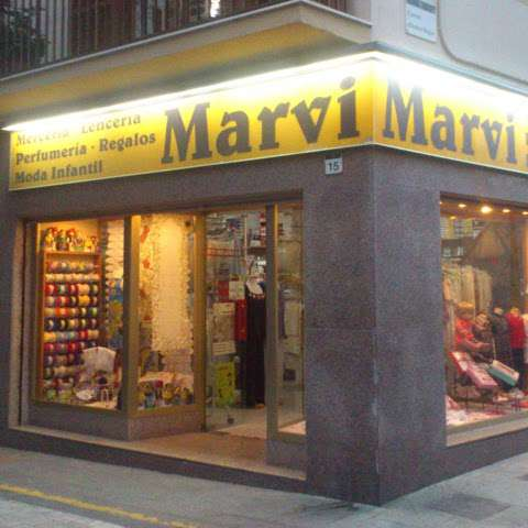 Logo comerç MERCERIA MARVI