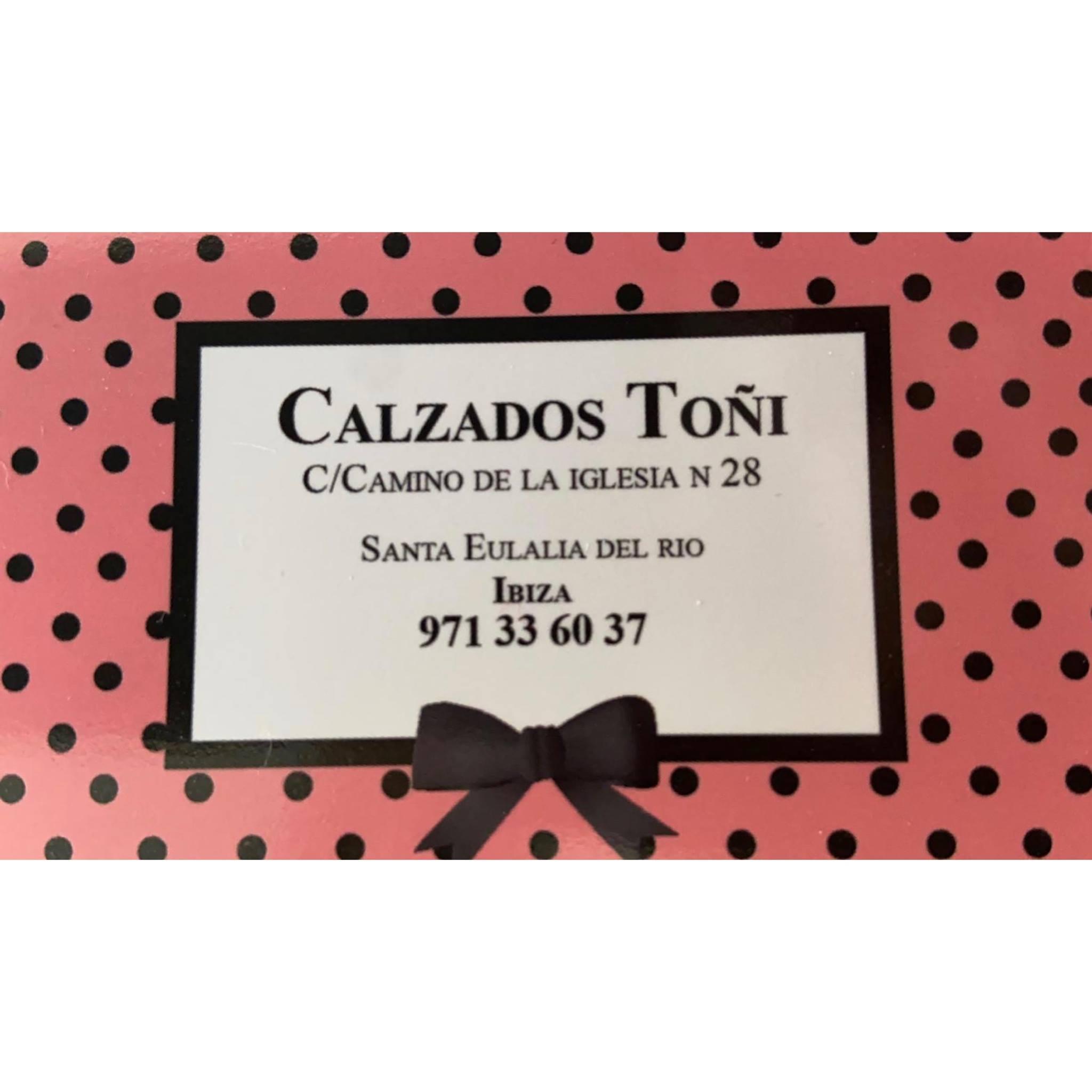 Logo comerç CALZADOS TOÑI