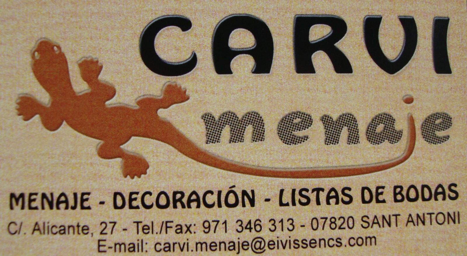 Logo comerç CARVI MENAJE