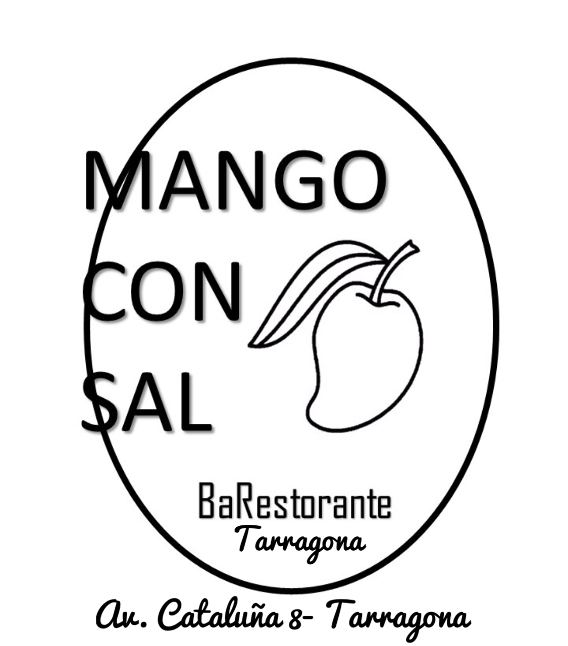 Logo comerç Mango con sal - Tarragona