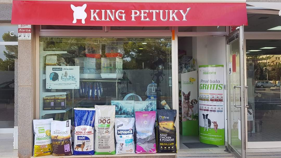 Logo comerç KING PETUKY